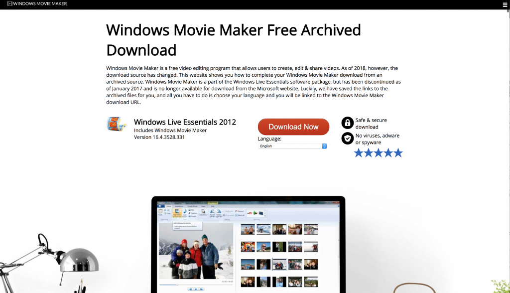 Windows Movie Maker Archive