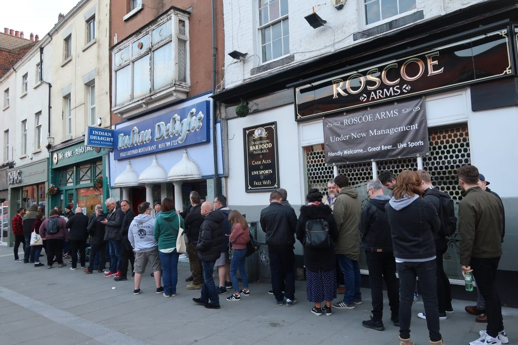 Renshaw 81 Record Store Day Queue