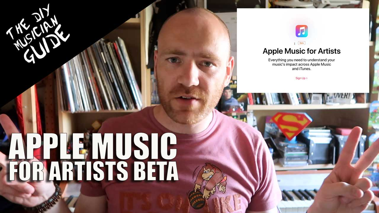 Apple Music for Artists Beta – Sign Up Now!