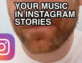 Your Music in Instagram Stories