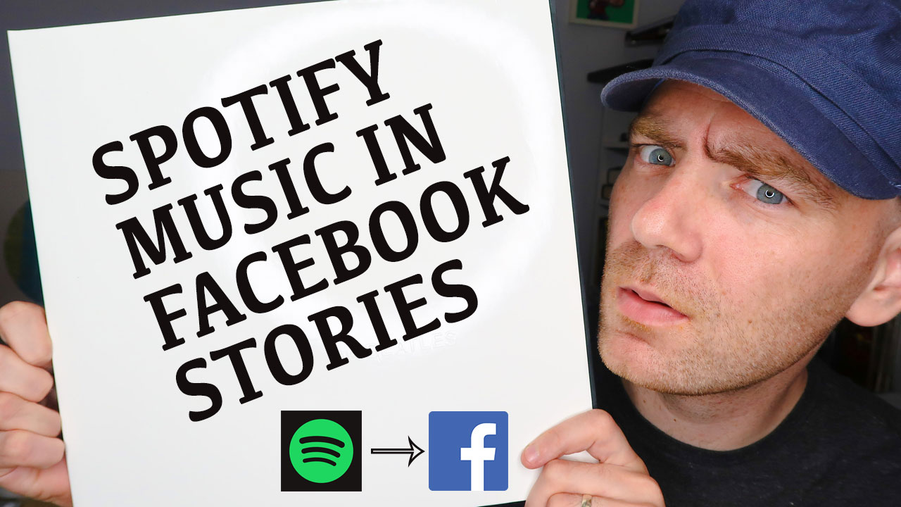 How to add Spotify Music to Facebook Stories