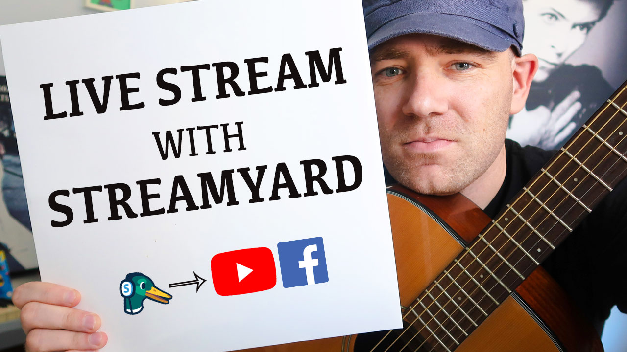 How to Live Stream on YouTube & More with StreamYard