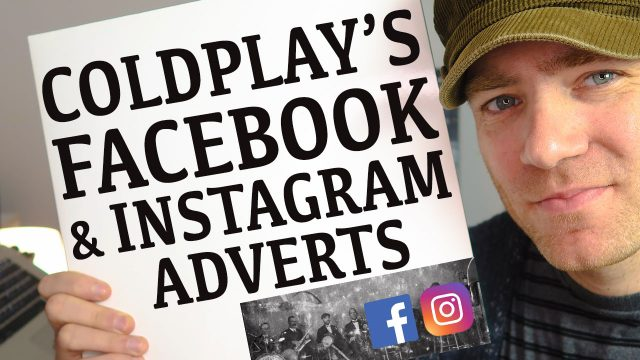 How to View Facebook & Instagram Adverts Coldplay Are Using to Promote their New Album