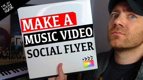 How to Make a Social Media Video Flyer for an Album or Gig using Final Cut