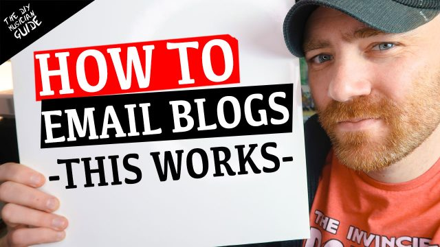 How to Email Music Blogs & Promoters – Here's an Example That Works