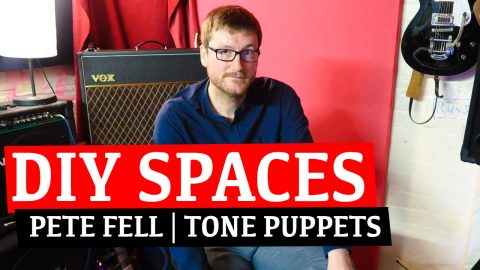 Pete Fell of Tone Puppets, Liverpool – DIY SPACES