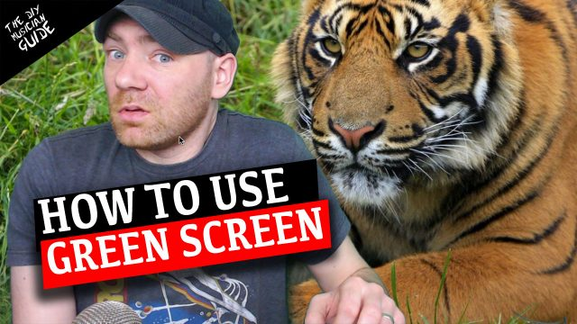 How to Use a Green Screen for Live Performances or Live Streams using OBS & Streamyard