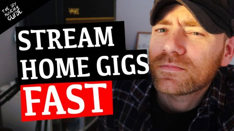 5 Super Quick Ways to Live Stream Your Music Performances – Play Gigs at Home!