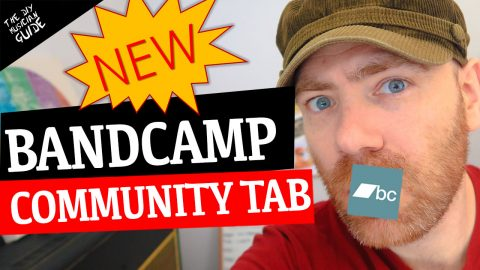 The Bandcamp Dashboard & Community Tab