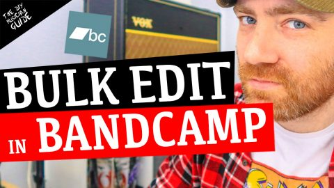 How to Bulk Edit Music in Bandcamp