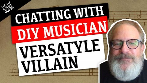 Versatyle Villain on Becoming a Musician, Making Music & Advice for Newcomers | DIY Hard Chats