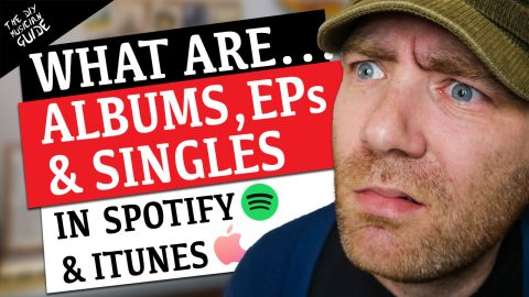 What is an Album, EP or Single on Spotify & iTunes?